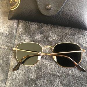 Ray-Ban Accessories - Ray ban hexagonal flat glasses